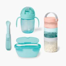 Skip Hop Easy Pack Travel Feeding Set