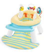 Skip Hop Explore & More 2-in-1 Activity Floor Seat- Bee
