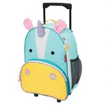 Skip Hop Rolling Luggage Unicorn