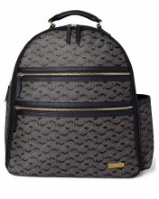Skip Hop Deco Saffiano Diaper Backpack