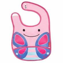 Skip Hop Tuck Away Bib Butterfly