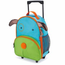 Skip Hop Rolling Luggage Dog