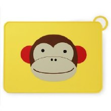 Skip Hop Fold & Go Placemat Monkey