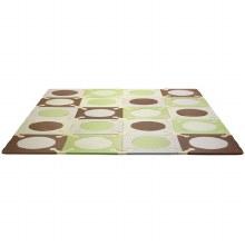 Skip Hop Playspot Interlocking Tiles Green/Brown
