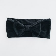 Sugar + Maple Headband Black