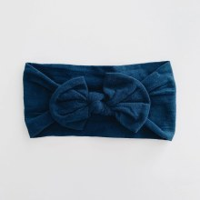Sugar + Maple Headband Navy