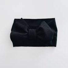 Sugar + Maple Headwrap Black