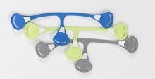 Snappi Triple Pack Blue/Gray/Green