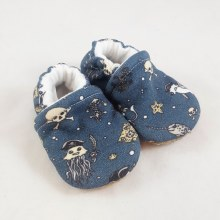 Snow and Arrow Organic Cotton Slippers Undersea Pirate