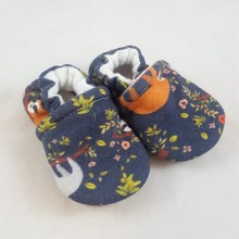 Snow and Arrow Organic Cotton Slippers - Sloth