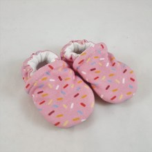 Snow and Arrow Organic Cotton Slippers - Sprinkles