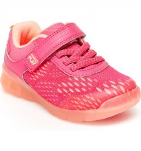 Stride Rite Made 2 Play Lighted Neo Pink K1