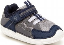 Soft Motion Kylo Sneaker Navy and Gray
