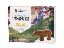 Soapstone Creative Carving Kit Bear