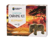 Soapstone Creative Carving Kit Elephant