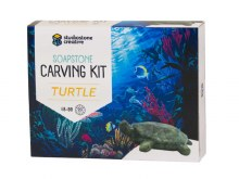 Soapstone Creative Carving Kit Turtle