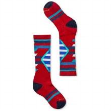 Smartwool Kids Ski Racer Socks Crimson