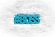 TeetheWord #Boss Blue Teether