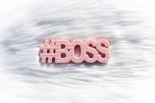 TeetheWord #Boss Pink Teether