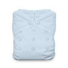 Thirsties One Size AIO Snap Ice Blue