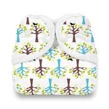 Thirsties Diaper Cover - Snap Blackbird Extra Small