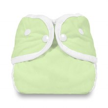 Thirsties Diaper Cover - Snap Celery Small