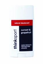 Thinksport Natural Deodorant - Currant & Grapefruit