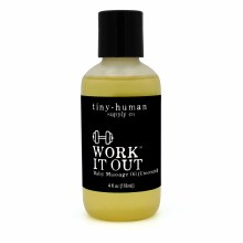 Tiny Human Supply Co. Work It Out Massage Oil