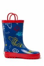 Timbee Rocket Rubber Rain Boots