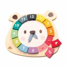 Tender Leaf Toys Bear Colors Clock