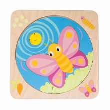 Tender Leaf Toys Butterfly Life Cycle  Puzzle