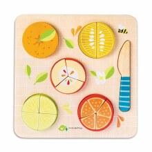 Tender Leaf Toys Citrus Fractions Puzzle