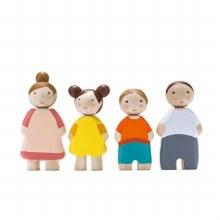 Tleaf Doll Family White