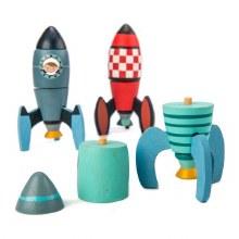 Tender Leaf Toys Rocket Construction