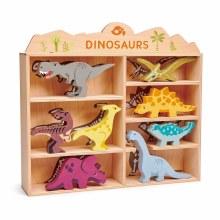 Tender Leaf Toys Wooden Dinosaurs Triceratops