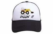 Tiny Trucker Co. Diggin It Baby Hat