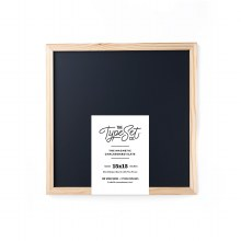 The Type Set Co Magnetic Black Chalkboard
