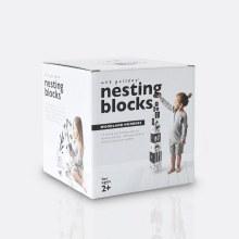 Wee Gallery Woodland Number Nesting Blocks