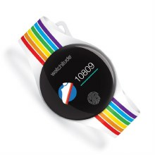 Watchitude Move2 Activity Watch Rainbow Stripes