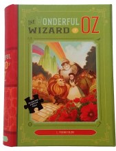 The Wonderful Wizard of Oz 500 Piece Puzzle and Book