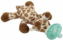 WubbaNub Infant Pacifier Giraffe
