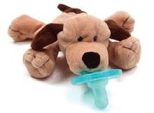 WubbaNub Infant Pacifier Brown Puppy