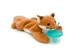 WubbaNub Infant Pacifier Fox
