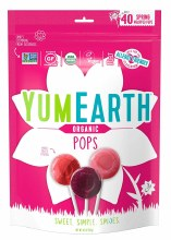 Spring Organic Fruit Lollipops