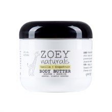 Zoey Naturals Vanilla & Grapefruit Body Butter