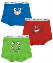 Zoochini Boxers Chompy Chompers 2T-3T
