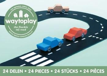 Waytoplay Highway Road Set