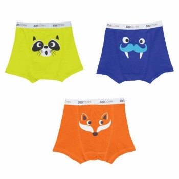Zoochini Boxers Crazy Critters 2T-3T