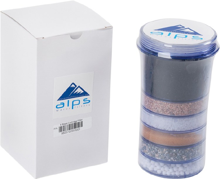 Replacement Filter Cartridge 6 Stage Filtration