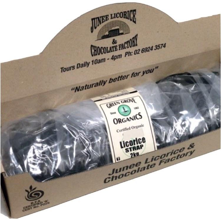 Licorice Original Strap 2kg Bulk